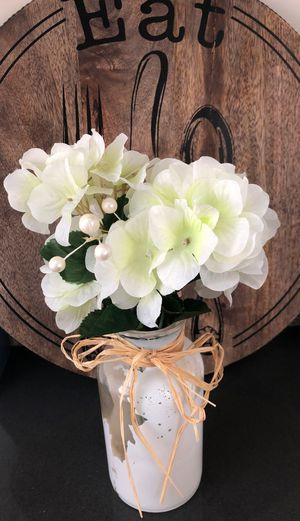 Farmhouse Vase and Flowers for Sale in San Diego, CA