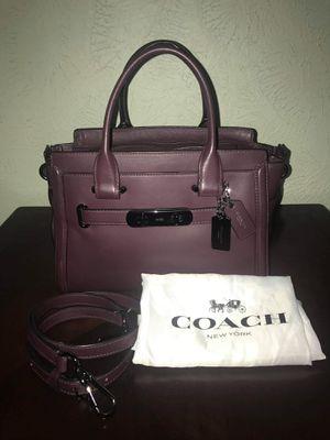 Coach Swagger 27 Oxblood Leather Shoulder Bag Handbag Tote for Sale in Irving, TX