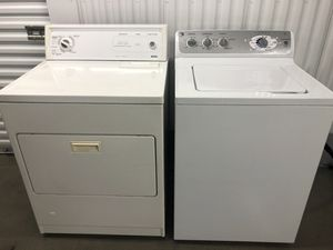 GE Washer and Gas Kenmore Dryer. Delivery available for Sale in Renton, WA