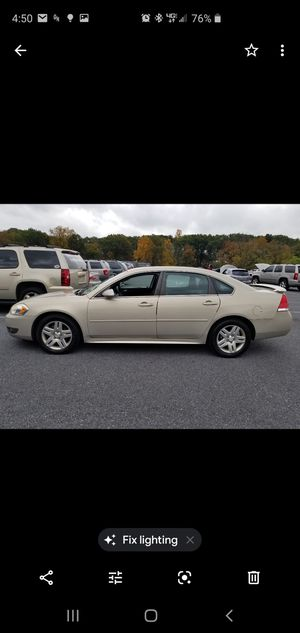 2011 Chevy impala LT for Sale in Frederick, MD