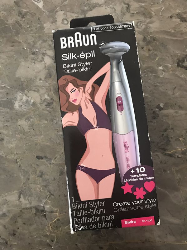 Braun Silk-epil bikini trimmer