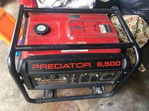 Predator generator 6,500 for Sale in Westchase, FL