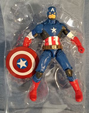 Marvel Legends Captain America (Marvel Now!) - Mandroid Wave - Loose no BAF for Sale in Spring Valley, CA