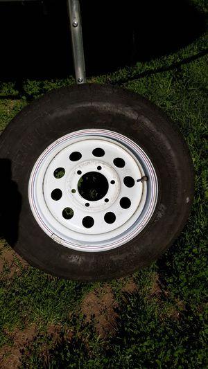 Trailer tire and rim for Sale in Norwalk, CA