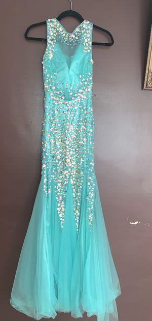 Blue mermaid prom dress for Sale in Dearborn, MI