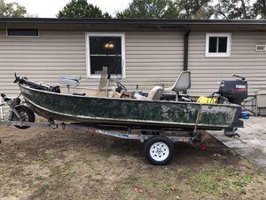 14 feet Jon boat aluminum for Sale in Reddick, FL