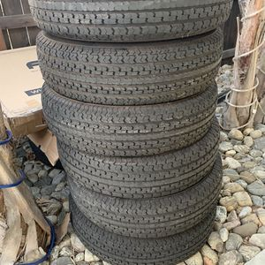 Trailer Tires 235/80-16 for Sale in Fontana, CA