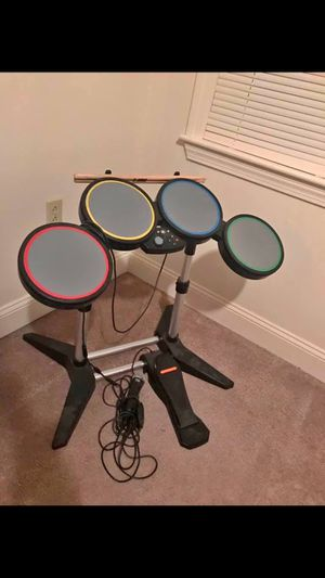 Drum set with mic for rock band for Sale in Waterbury, CT