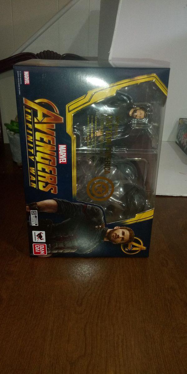 IW Captain America Shfiguart Bandai
