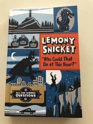 Lemony Snicket Hard Cover Book - Like New for Sale in Ashburn, VA