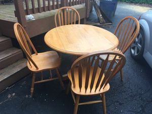 Small kitchen table and four chairs for Sale in Annandale, VA