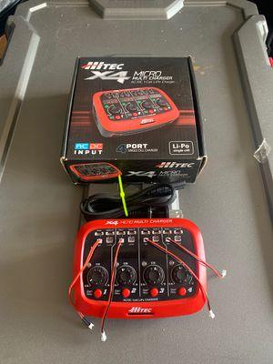 HiTec X4 Micro Multi charger AC/DC Lipo Charger! for Sale in Atlanta, GA