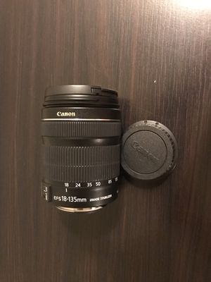 Canon camera lens for Sale in Chantilly, VA