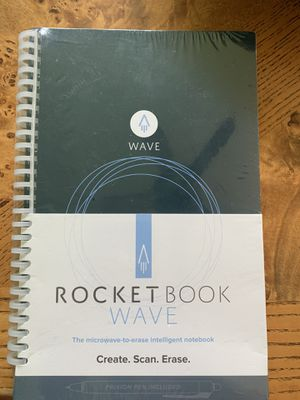 """Rocketbook Wave Cloud-Connected Reusable Smart Notebook, Executive Size,6""""x 8.9"""" for Sale in Heathrow, FL"""