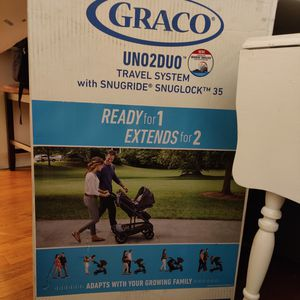 Graco uno 2 duo stroller for Sale in Boston, MA