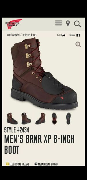 Brand New redwing steel toe work boots for Sale in Upland, CA