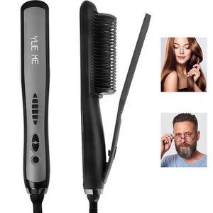 Professional Hair Straightener Ceramic Brush,Iron Electric Straightening Hot Comb Heated brush for Sale in Duluth, GA