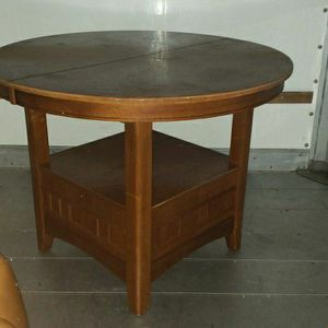 Real Wood Solid Dining Room Table for Sale in Raleigh, NC