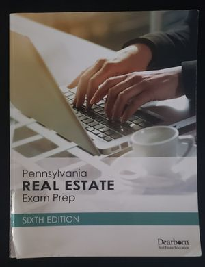 PA Real Estate State Textbook for Sale in Philadelphia, PA