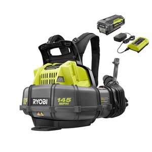 Ryobi 40-Volt Cordless Backpack Blower w/battery and charger for Sale in Gilbert, AZ