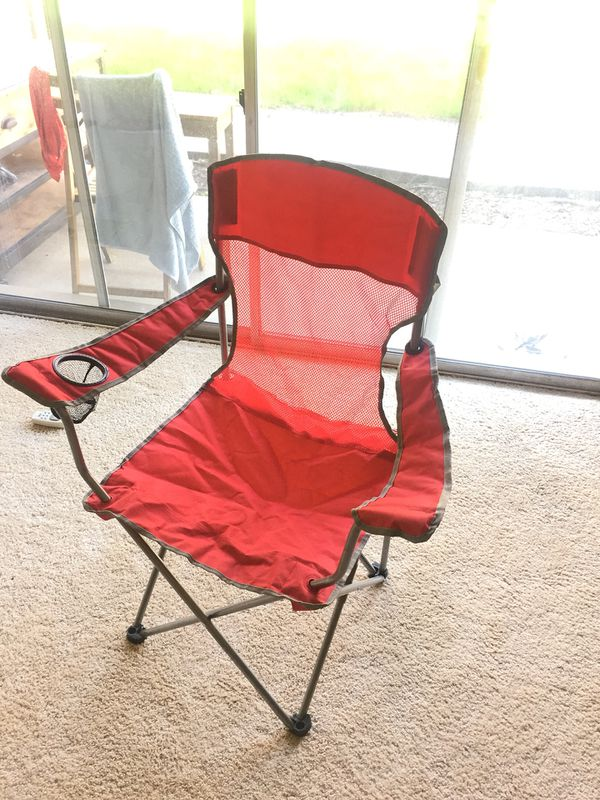 Camping set: 2 person camping tent, chair, sleeping bag, 2 person table setting