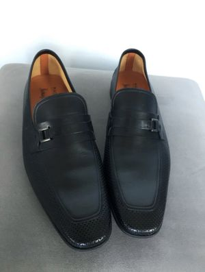 $350 Authentic Magnanni leather dress shoes size 8 for Sale in Miami, FL