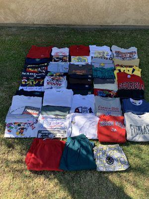 Vintage Tees, Shorts, & Hoodies Bundle/Lot for Sale in Fresno, CA