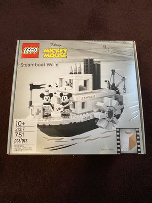 LEGO Disney Mickey Mouse Steamboat Willie (21317) Factory Sealed for Sale in Long Beach, CA
