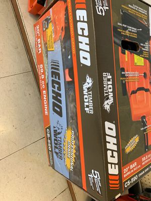 Brand new echo chainsaw 20 inch bar for Sale in Austin, TX