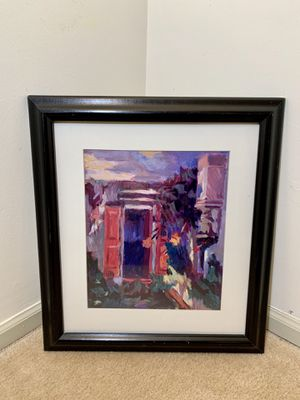 Framed Abstract Painting/Print for Sale in Alexandria, VA