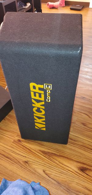Kicker 12 inch box(just the box) for Sale in Amarillo, TX