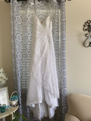 White wedding dress for Sale in Hollister, CA