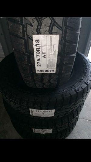 NEW TIRES 275 70 18 for Sale in Phoenix, AZ