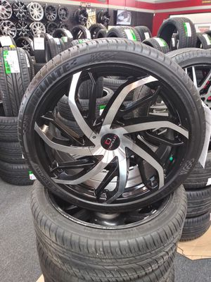 22 inch wheels and tires for Sale in Spartanburg, SC