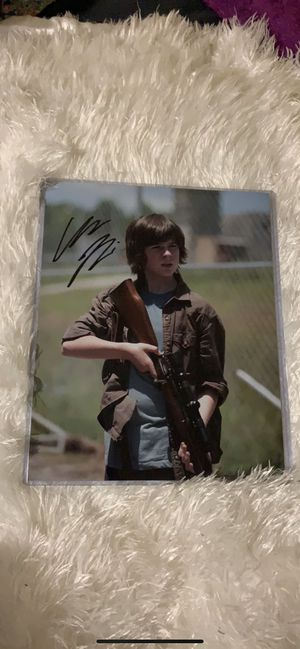 The Walking Dead picture signed. for Sale in Murray, KY