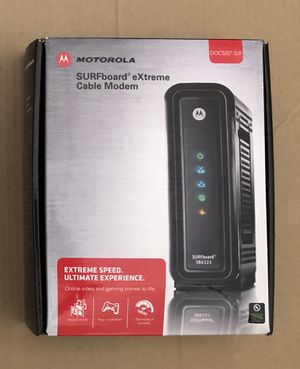 Motorola Cable Modem SURFboard Extreme DOCSIS 3.0 for Sale in Scottsdale, AZ