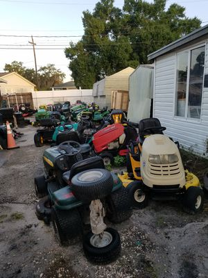 ((Supply changes daily))((PARTING OUT ONLY))Riding lawn mower for Sale in Lakeland, FL