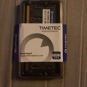 Timetec Hynix IC 16GB DDR4 2400MHz PC4-19200 Non ECC Unbuffered 1.2V CL17 2Rx8 Dual Rank 260 Pin SODIMM for Sale in Phillips Ranch, CA