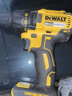 dewalt 20v brushless drill $40 firm TOOL ONLY sin pilas ni cargador for Sale in North Las Vegas,  NV