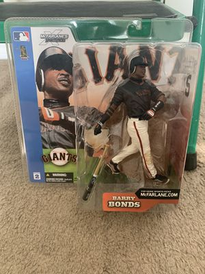 Hall of Famer Barry bonds very collectible action figure for a steal of a price for Sale in Zephyrhills, FL