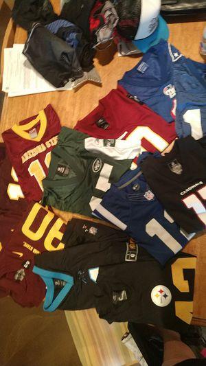 Lot of boys NFL football jerseys. OBO for Sale in Scottsdale, AZ