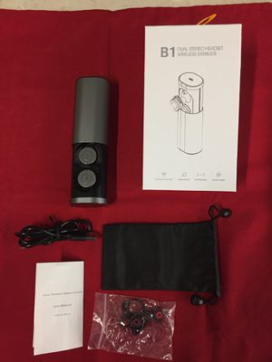 B1 wireless earbuds for Sale in Montebello, CA