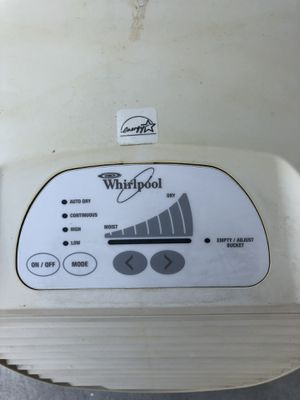 Whirlpool Dehumidifier for Sale in Wake Forest, NC