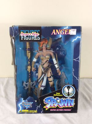 New Angela 13 Inch Boxed Action Figure Spawn McFarlane Toys 1996 for Sale in Severn, MD