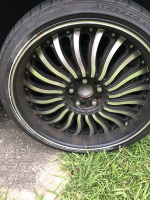 22 inch rims for Sale in Montgomery, AL