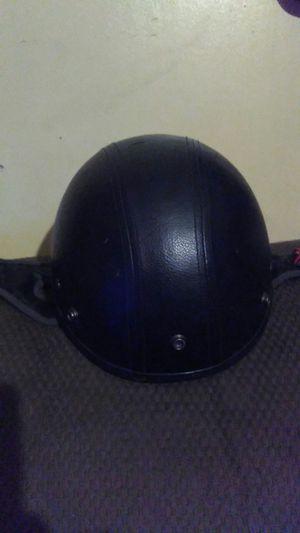 Leather motorcycle helmet for Sale in La Vergne, TN