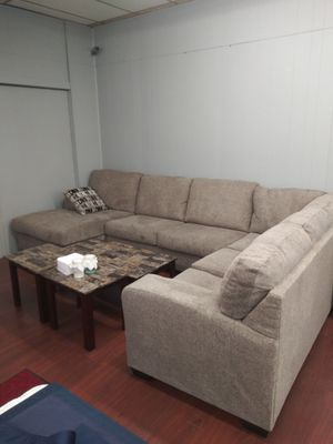 Ashley Fabric 807 Sectional Sofa for Sale in Parma, OH