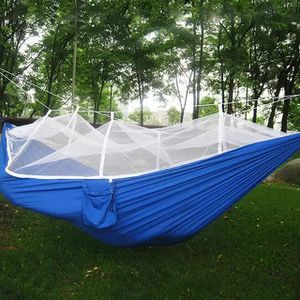 1-2 Person Portable Outdoor Camping Hammock with Mosquito Net for Sale in Westminster, MD
