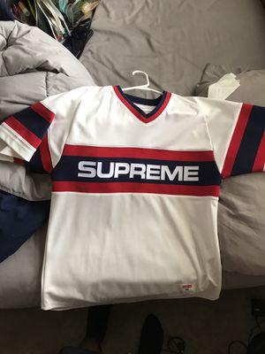 Supreme Baseball Jersey for Sale in Marietta, GA