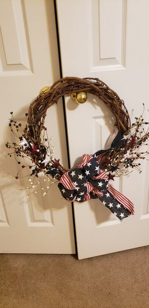 Patriotic wreath for Sale in Pearland, TX